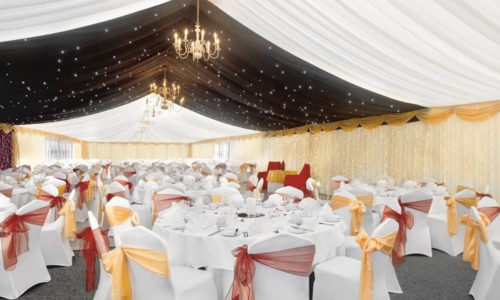 home 6 marquee banquet